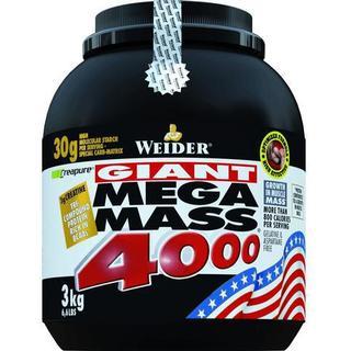 Weider Mega Mass 4000 Strawberry 3kg