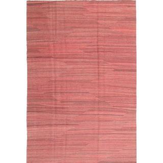 CarpetVista ABCS1486 Kelim Moderna (195x295cm) Röd