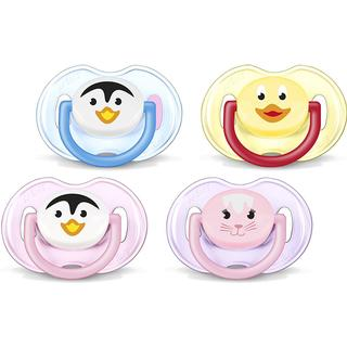 Philips Avent Animal Soothers 0–6m 2-pack