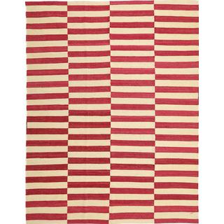 CarpetVista ABCS1624 Kelim Moderna (178x233cm) Röd