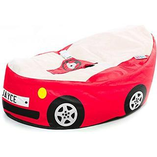 Rucomfy Luxury Cuddle Soft Racing Car Gaga Baby Bean Bag
