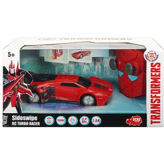 Dickie Toys Transformers Robots in Disguise Sideswipe RC Turbo Racer