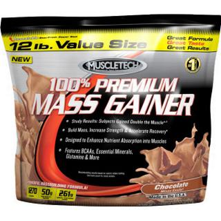 Muscletech 100% Premium Mass Gainer Strawberry 5.4kg