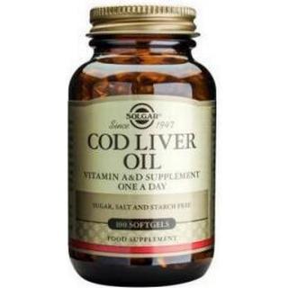 Solgar Cod Liver Oil 100 st