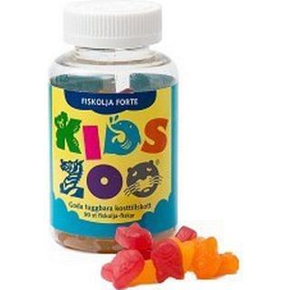 Acrilex Egenvård KidsZoo Fish Oil Forte Chewable Tablets 90 st