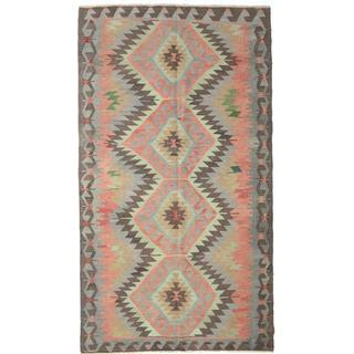 CarpetVista XCGZK727 Kelim Semiantik Turkisk (185x330cm)