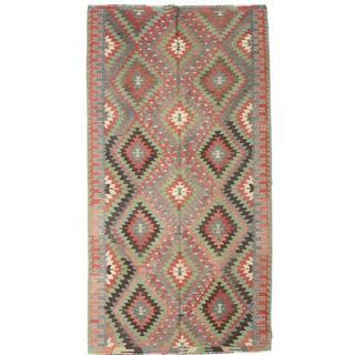 CarpetVista XCGZK893 Kelim Semiantik Turkisk (163x305cm)
