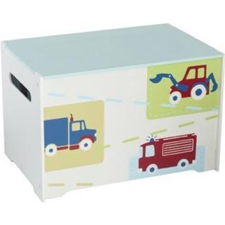 Hello Home Trucks N Tractors Toy Box