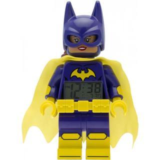 Lego Batgirl Minifigure Alarm Clock 5005226