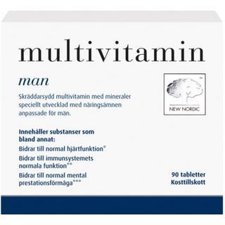 New Nordic Multivitamin Man 90 st