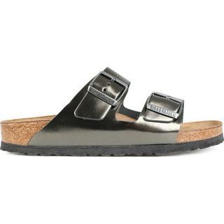 Birkenstock Arizona Soft Footbed - Metallic Anthracite