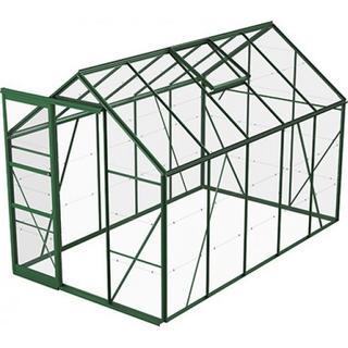 Skånska Byggvaror Bruka 6.2m² Aluminium Glas