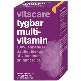 Vitacare Chewable Multivitamin 100 st