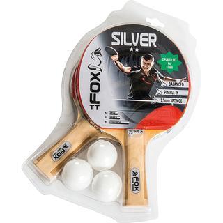 Fox Silver 2 Star Table Tennis Set