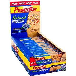 PowerBar Natural Protein Bar Blueberry Nuts 40g 24 st