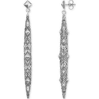 Thomas Sabo Africa Ornaments Silver Earrings - 7.57cm (H1931-637-21)