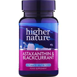 Higher Nature Astaxanthin & Blackcurrant 30 st