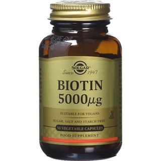 Solgar Biotin 5000mg 50 st