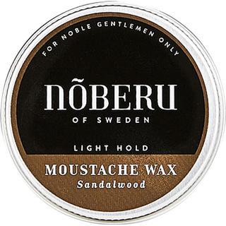 Nõberu of Sweden Mustache Wax Light Hold Sandalwood 30ml