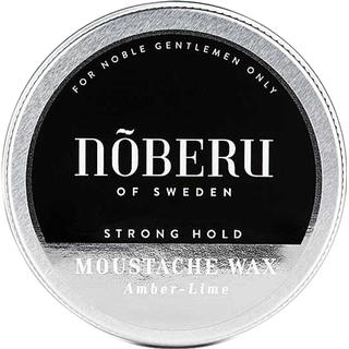 Nõberu of Sweden Mustache Wax Strong Hold Amber Lime 30ml