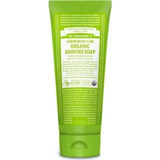 Dr. Bronners Organic Lemongrass Lime Shaving Soap 208ml