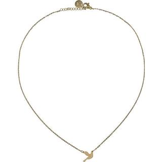 Edblad Dove Gold Plated Stainless Steel Necklace - S (11730006)