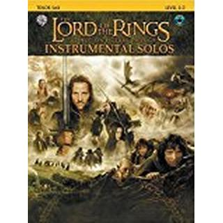 The Lord of the Rings Instrumental Solos: Tenor Sax (book and CD)
