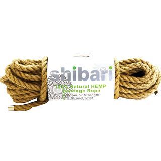 Shibari Natural Hemp Rope 10m