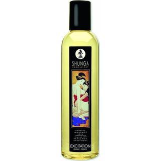 Shunga Erotic Massage Oil Excitation Orange 250ml