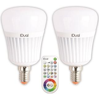 JEDI Lighting iDual LED Lamp 7W E14 2 Pack