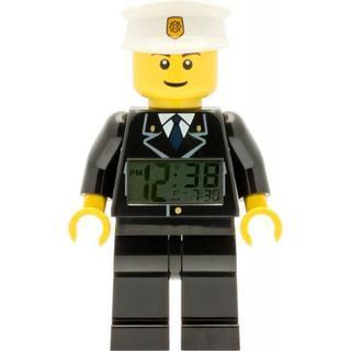 Lego City Police Minifigure Clock