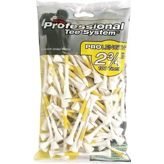 Pride Professional Pro Length Wooden Tees 69mm 100-pack
