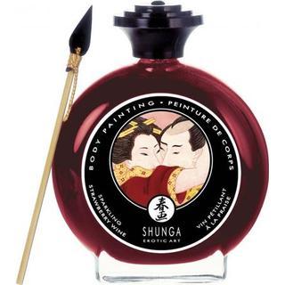 Shunga Sparkling Strawberry Wine BodyPainting