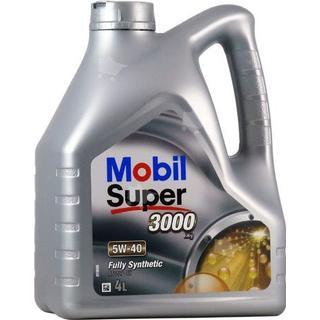 Mobil Super 3000 X1 5W-40 4L Motorolja