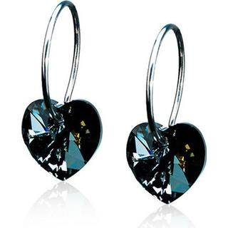 Blomdahl Skin-Friendly Medical Titanium Earrings w. Swarovski Crystals - 1.0cm (15‑1255‑12)
