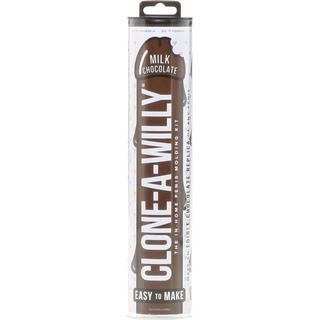 Clone-A-Willy Novelty Penis Casting Kit Milk Chocolate