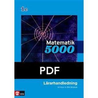 Matematik 5000 Kurs 1c Blå Lärarhandledning pdf (Övrigt format, 2011)