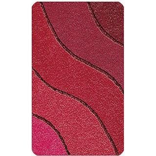 Kleine Wolke Wave (55x65cm) Röd