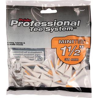 Pride Professional Mini Wooden Tees 38mm 90-pack