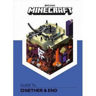 Minecraft - Guide til Nether og End (Inbunden, 2017)