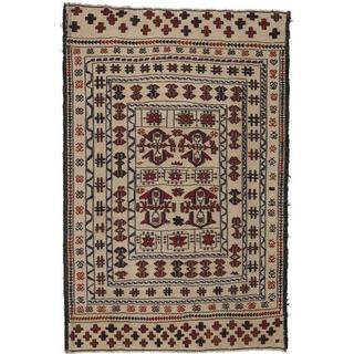 CarpetVista ACOL2749 Kelim Afghan Old Style (123x188cm) Beige