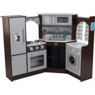 Kidkraft Ultimate Corner Play Kitchen With Lights Amp Sounds