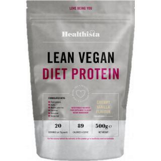 Healthista Lean Vegan Diet Protein Creamy Vanilla 500g