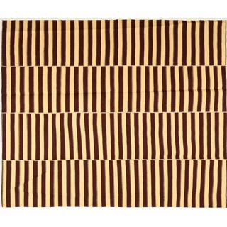 CarpetVista EDA324 Kelim Moderna (222x265cm) Brun, Gul