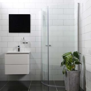 Bathlife Mångsidig Rund 800x800x1900mm
