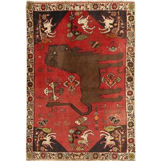 CarpetVista AXVZN71 Ghashghai (131x193cm) Flerfärgad