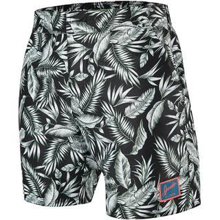 "Speedo Dream Fuse Vintage Printed 16"" Shorts - Black"