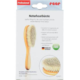 Reer Medium Baby Hair Brush Natural Line