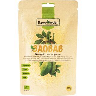 Rawpowder Baobab EKO 150g