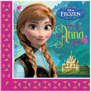 Disney Napkins Frozen Blue/Pink 20-pack